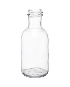 12 oz. Clear Glass Stout Bottle, 38mm 38-2000