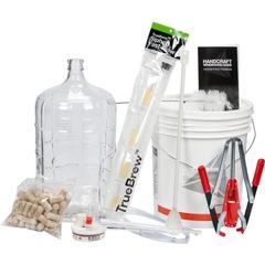Wine Making Kit, FineWine™ Deluxe Starter Kit w/Glass Carboy