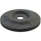 """55 Gallon Drum Dark Granite Plastic Flat Top Recycling Lid, 4"""" Opening"""