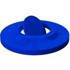 55 Gallon Drum Blue Plastic Bug Barrier Trash Receptacle Lid