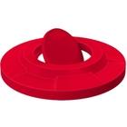 55 Gallon Drum Red Plastic Bug Barrier Trash Receptacle Lid