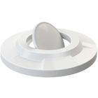 55 Gallon Drum White Plastic Bug Barrier Trash Receptacle Lid