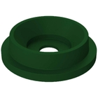 """55 Gallon Drum Green Plastic Funnel Top Recycling Lid, 5"""" Opening"""