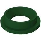 """55 Gallon Drum Green Plastic Funnel Top Trash Receptacle Lid, 11.5"""" Opening"""