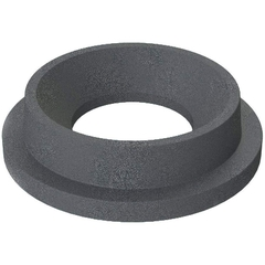 "55 Gallon Drum Dark Granite Plastic Funnel Top Trash Receptacle Lid, 11.5"" Opening"