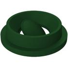 55 Gallon Drum Green Plastic Funnel Top Bug Barrier Trash Receptacle Lid