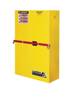 Sure-Grip® EX High Security Flammable Safety Cabinet, 45 Gallon, S/C Doors, Yellow