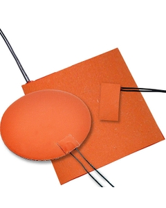 """1"""" x 10"""" Silicone Rubber Heating Blanket"""