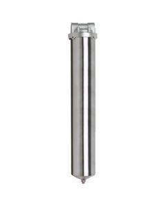 "20"" 316 Stainless Steel Single Cartridge Filter Vessel, 3/4"" NPT"