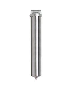"20"" 316 Stainless Steel Single Cartridge Filter Housing"