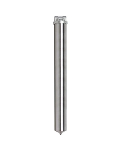 "30"" 316 Stainless Steel Single Cartridge Filter Housing"