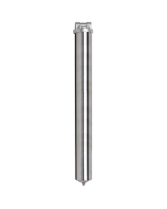 "30"" 316 Stainless Steel Single Cartridge Filter Vessel, 3/4"" NPT"