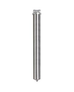 "30"" 316 Stainless Steel Single Cartridge Filter Vessel, 1"" NPT"