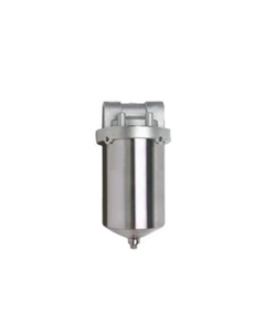 "5"" 316 Stainless Steel Single Cartridge Filter Vessel, 1"" NPT"
