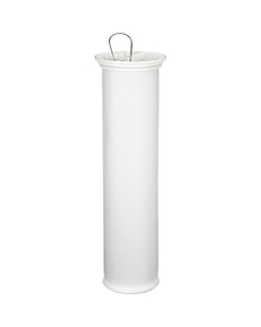 Size #1 High Flow Pleated Filter Cartridges (size #2 shown)