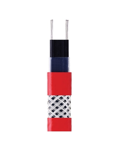 15 W/ft High-Temperature Self-Regulating Heating Cable, Tinned Copper Braid (208-277V)