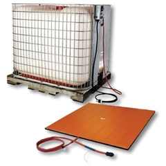 IBC Tote Tank Heating Pad, Adj. Thermostat, 0°F to 175°F