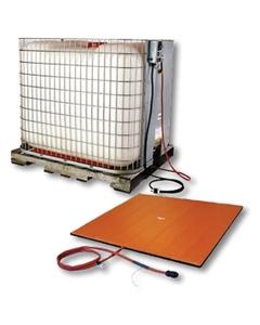 IBC Tote Tank Heating Pad, Adj. Thermostat, 0°F to 175°F, 240v