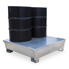 4-Drum Steel Ultra-Spill Pallet - UltraTech 1182