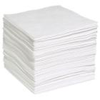 "15"" x 18"" Light-Weight Oil Absorbent Pads, Meltblown, White (200 pads/bag)"