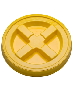 Yellow Gamma Seal Lid for 3.5, 5, 6 & 7 Gallon Plastic Pails
