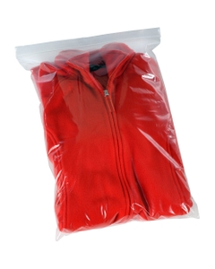 """18"""" x 24"""" Zip-Top Reclosable Poly Bags, 2 mil, Clear, 500/cs"""
