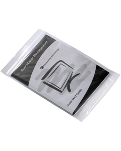 """5"""" x 12"""" Zip-Top Reclosable Poly Bags, 2 mil, Clear, 1,000/cs"""