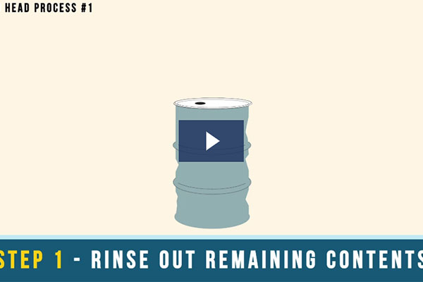 Reconditioning Process for Steel Drums (Video)