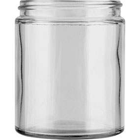 Glass Straight Sided Jars