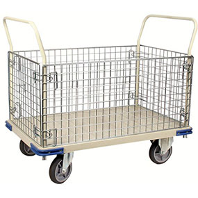 Wire Caged Platform Trucks