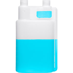 Plastic Twin Neck Bottles
