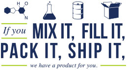 If you Mix it, Fill it, Pack it, Ship it, we have a product for you.
