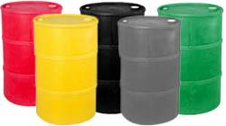 Tight Head Specialty Colored Plastic Drums (Closed Head)