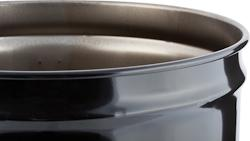 Unlined Pails with a Rust Inhibitor Enamel