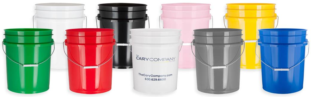 5 Gallon Buckets Plastic