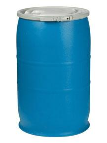55 Gallon Plastic Drums (Open Head)