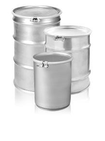 Open Head Stainless Steel Drums