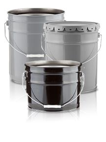 Open Head Steel Pails